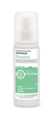 Deodorante spray al Talco
